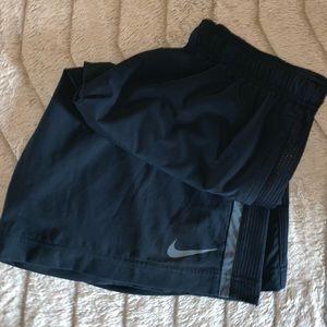 Men's Nike Medium Dri-fit Shirts Navy